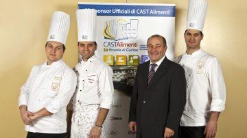CAST Alimenti ha presentato ieri la squadra italiana pasticceri che disputerà il titolo mondiale della pasticceria in gennaio a Lione