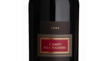 Vino: L'IGT Toscana Rosso 2006 dell'azienda di Bolgheri è tra le migliori eccellenze d'Italia