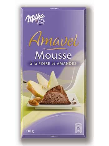 Amavel presenta il nuovo gusto Mousse alla pera e mandorle