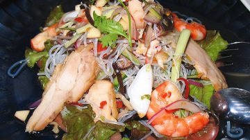 Aeroporti, aerei e cucina thai