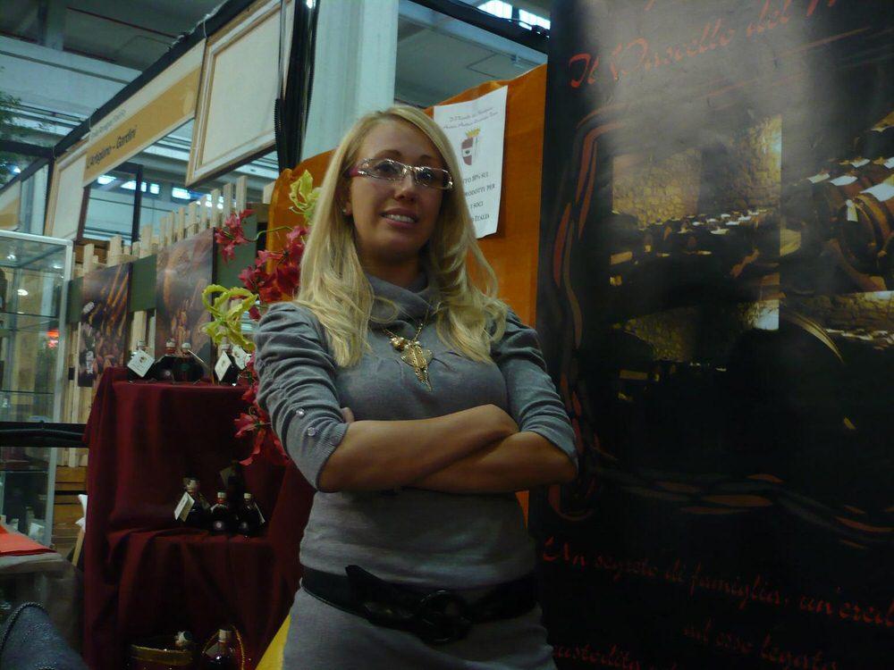 Aziende e imprenditori reggiani al Salone del Gusto di Torino: Irene Licia Melloni, azienda Il Vascello del Monsignore