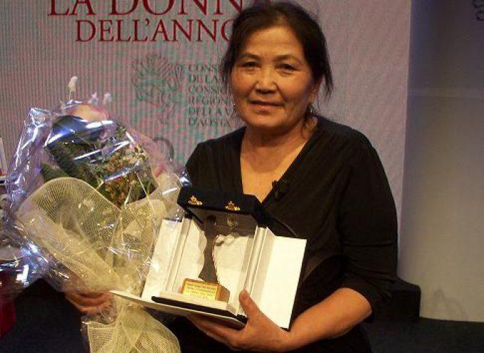 L'uzbeka Bibisora Oripova premiata Donna dell'Anno