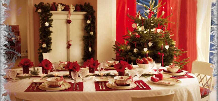 Sulle tavole di natale degli italiani trionfa il made in italy for Foto tavole natalizie