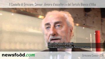 Senatore Tomaso Zanoletti – Castello di Grinzane Cavour – Tartufo Bianco d'Alba (video)