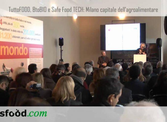 Conferenza stampa TuttoFOOD e BtoBio Expo. Enrico Pazzali, Amministratore Delegato Fiera Milano (video)