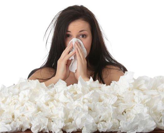 Raffreddore? Colpa dell'aria secca e della poca igiene