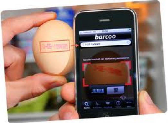 Barcoo: l'applicazione per smartphone che individua le uova alla diossina