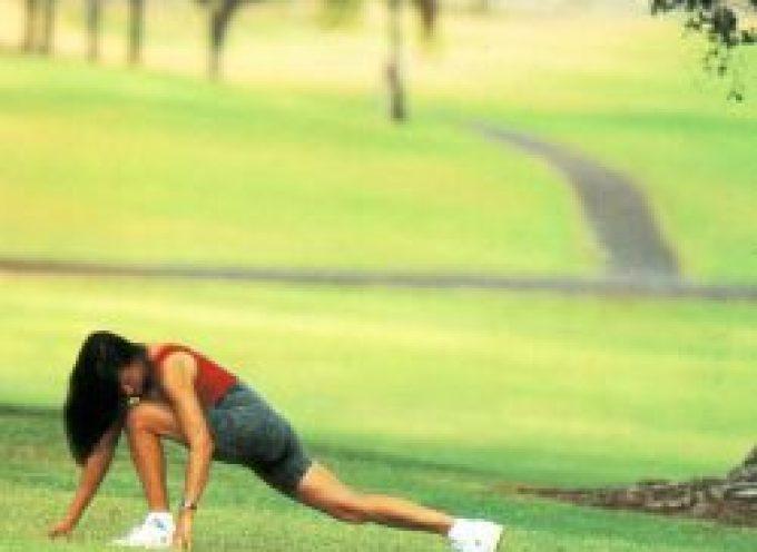 Fare stretching prima di praticare sport non protegge dagli infortuni