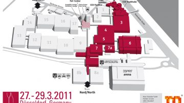 ProWein 2011: Newsfood.com sarà a Dusseldorf dove si incontra tutto il mondo specializzato e Vinitaly sta all'erta