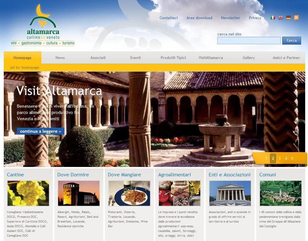 Altamarca si occuperà dell'offerta turistica in Pedemontana Trevigiana