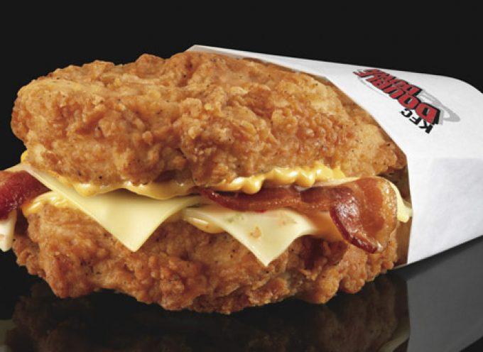 "Double Down: panino o ""Orrore alimentare""?"