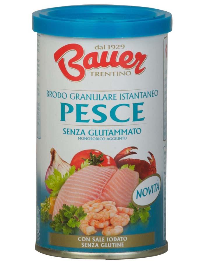 Bauer: Nuovo Brodo Granulare Istantaneo Pesce
