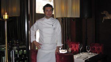 "Luigi Ferraro, executive chef del lussuoso ristorante ""Cafe Calvados"" di Mosca"