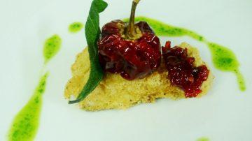 Da Mosca, Gigi Ferraro vi propone una ricetta insolita: Croccante di baccalà