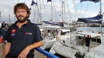 7 mosse per l'Italia: E' partita dal Porto antico di Genova la traversata oceanica capitanata da Giovanni Soldini