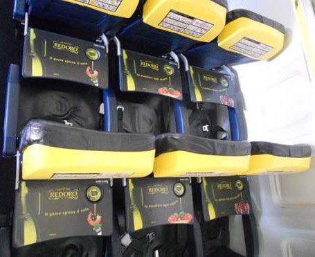L'olio extravergine d'oliva di Frantoi Redoro vola con Ryanair