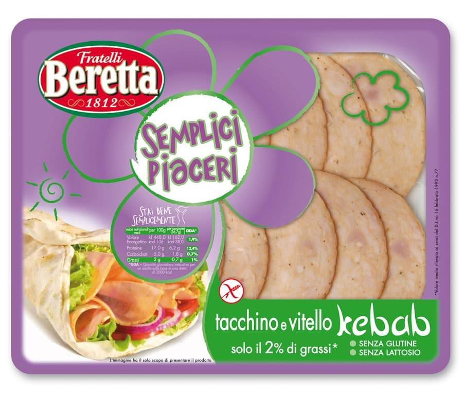 E' nato un nuovo affettato Beretta: Il Kebab, appetitoso e nutriente