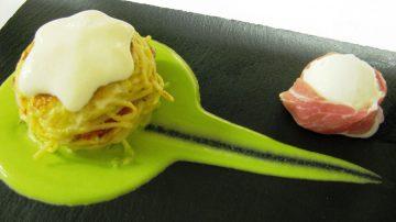 The International six-day Gelato event: Il piatto dello Chef Colucci del ristorante dell'Hotel Danieli di Venezia