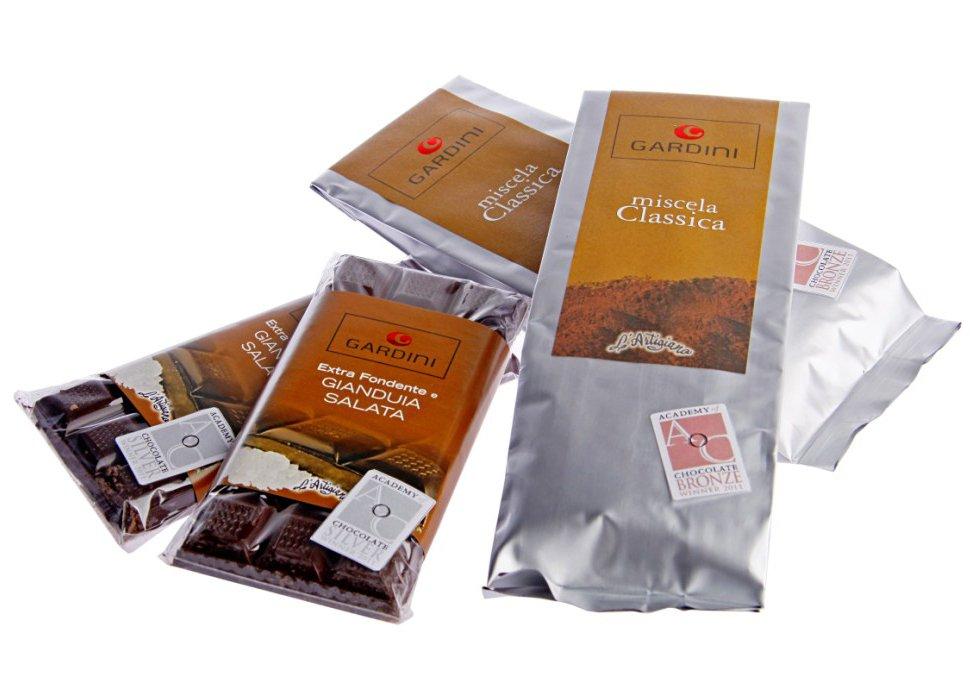 Academy of Chocolate: Medaglia d'argento e di bronzo per due prodotti creati dai fratelli Gardini