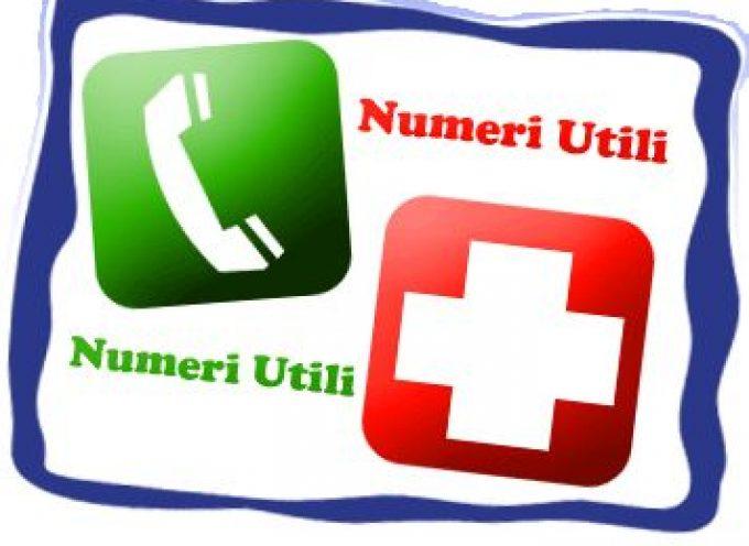 Guida Numeri utili per il cittadino: Polizia, Carabinieri, Vigili del Fuoco, Guardia di Finanza, Forestale…