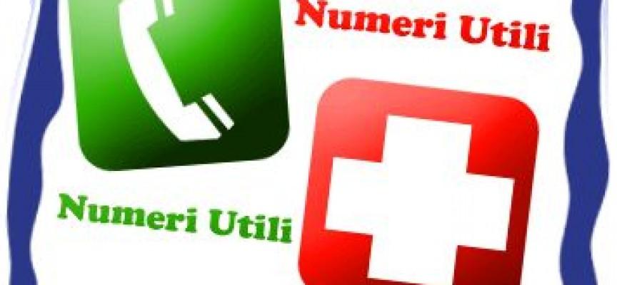 Guida Numeri utili per il cittadino: Polizia, Carabinieri, Vigili ...