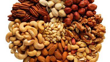 """La frutta secca abbassa la concentrazione del """"colesterolo cattivo"""""""