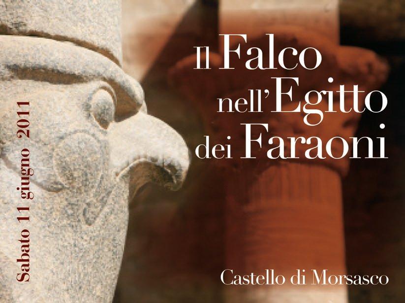 Sabato 11 giugno al castello di Morsasco (AL) si parla di Falchi e Falconeria