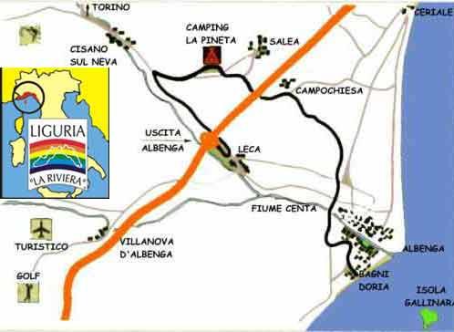 Quest'anno ferie in Camping, Parco Vacanze, Villaggio Turistico nella Riviera delle Palme, entroterra di Albenga, a pochi passi dal mare