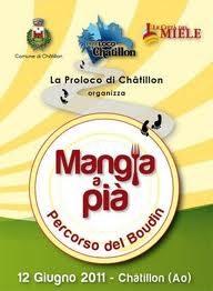 12 giugno, Chatillon: cibo e storia, sulle orme del Boudin
