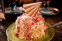 Un quasi capolavoro: Dario Fontanella ed il gelato agli spaghetti