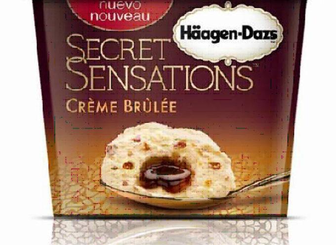 Häagen-Dazs presenta Secret Sensations: Gelato soffice e cremoso che racchiude al suo interno un cuore morbido e fondente