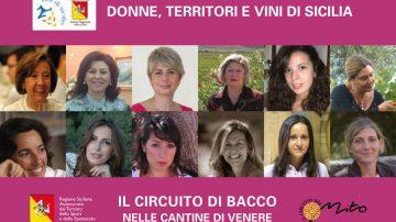 """""""Il Circuito di Bacco nelle Cantine di Venere"""": Cultura, spettacolo, paesaggio e vino di qualità al femminile"""