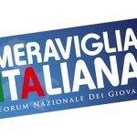 """Forum Giovani: """"Con Meraviglia Italiana vogliamo creare i presupposti per rilanciare l'economia"""""""
