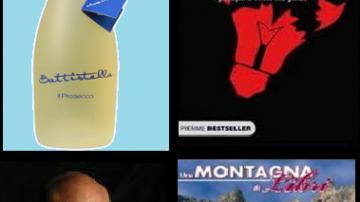 """Cortina (BL): Il giornalista Pino Aprile e """"Battistella, il Prosecco"""" a Una Montagna di Libri"""
