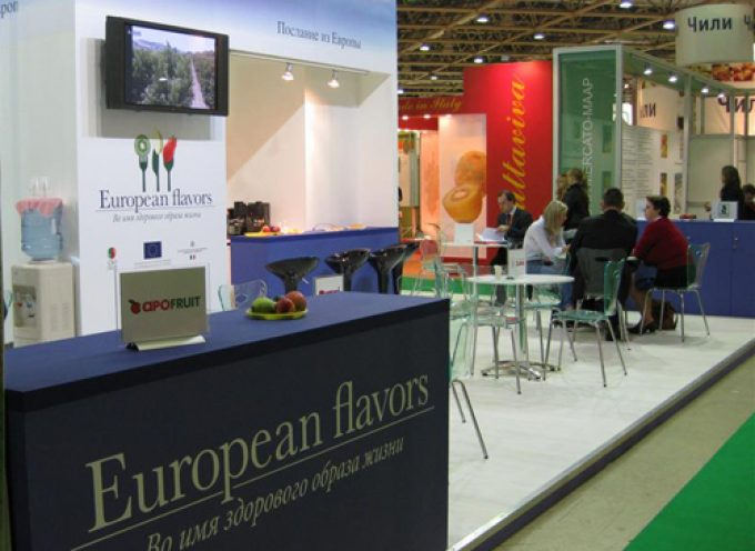 """European Flavors"" porta l'ortofrutta europea a World Food Moscow"