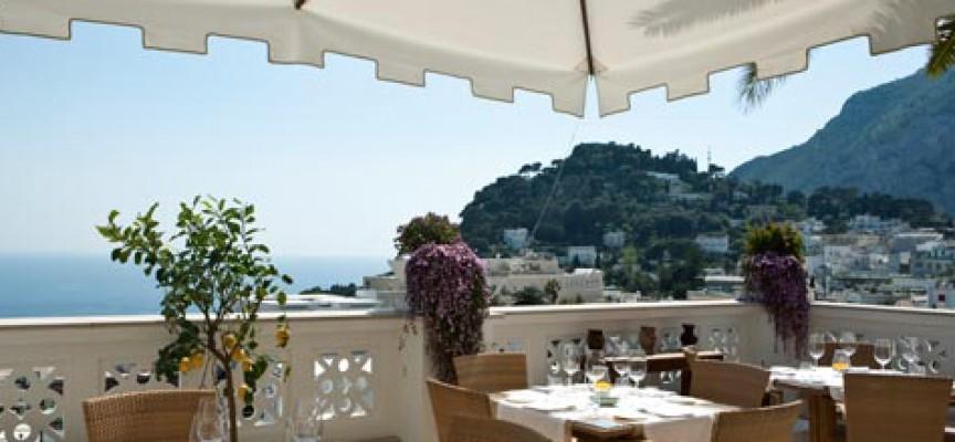 Terrazza Tiberio, il Ristorante del Capri Tiberio Palace presenta un ...