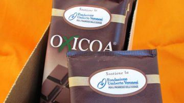 Tavolette di cioccolato per la scienza