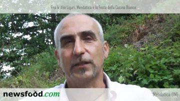 Mendatica e la Festa della Cucina Bianca: intervista al sindaco Piero Pelassa (in dialetto genovese)