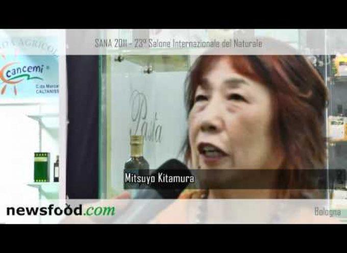 """Mitsuyo Kitamura, il Giappone vuole il """"biologico"""" italiano (Video)"""