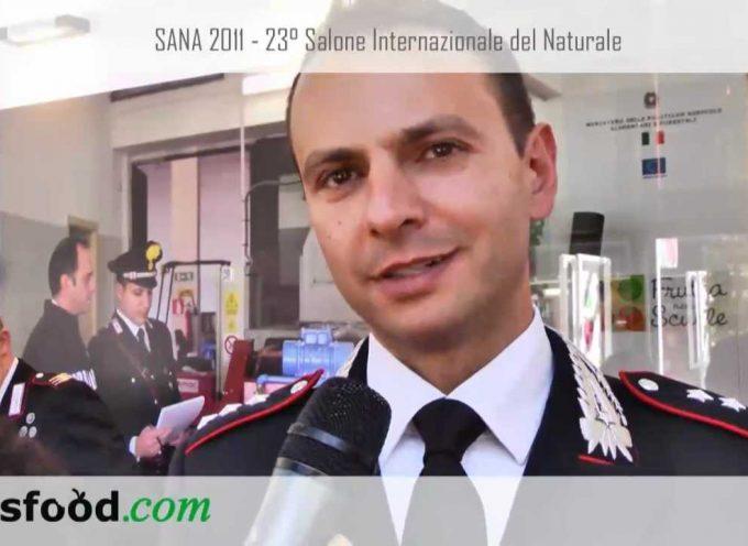 SANA 2011. Nucleo Antifrodi dei Carabinieri: una sicurezza per il consumatore. Intervista al Cap. Marco Uguzzoni