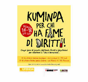 Kuminda: A Milano torna il festival del diritto al cibo