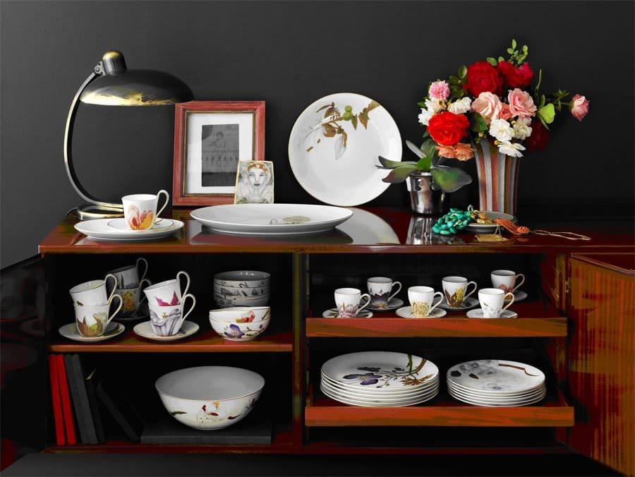 """Royal Copenhagen """"Flora"""": Il nuovo modo di arredare la tavola con i fiori"""