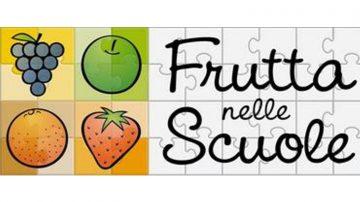 Progetto Frutta nelle Scuole per incentivare il consumo di frutta e verdura