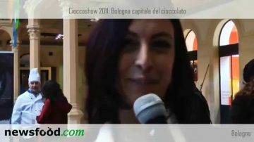 Bologna, Cioccoshow 2011, cioccolato da guinness dei primati: Lucia Sinigagliesi, Guinness World Records