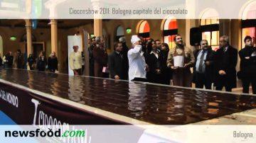 A Cioccoshow 2011 una tavoletta da guinness dei primati: Marco Della Vecchia, maestro cioccolatiere