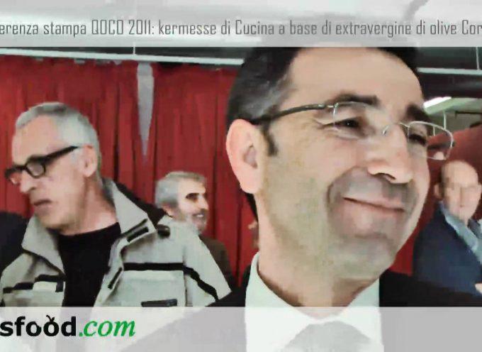 Eataly Torino presenta QOCO 2011, kermesse sull'olio extravergine d'oliva Coratina di Andria. Benedetto Miscioscia, Comune di Andria (Video)