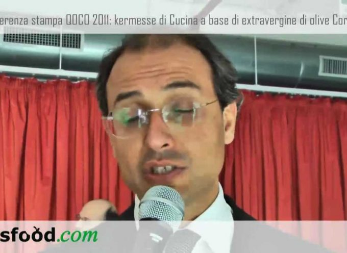 Eataly Torino presenta QOCO 2011, kermesse sull'olio extravergine d'oliva Coratina di Andria. Nicola Giorgino, Sindaco di Andria (Video)