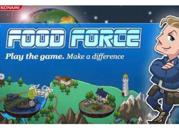 """""""Food Force"""": Il primo gioco on line che aiuta a combattere la fame"""