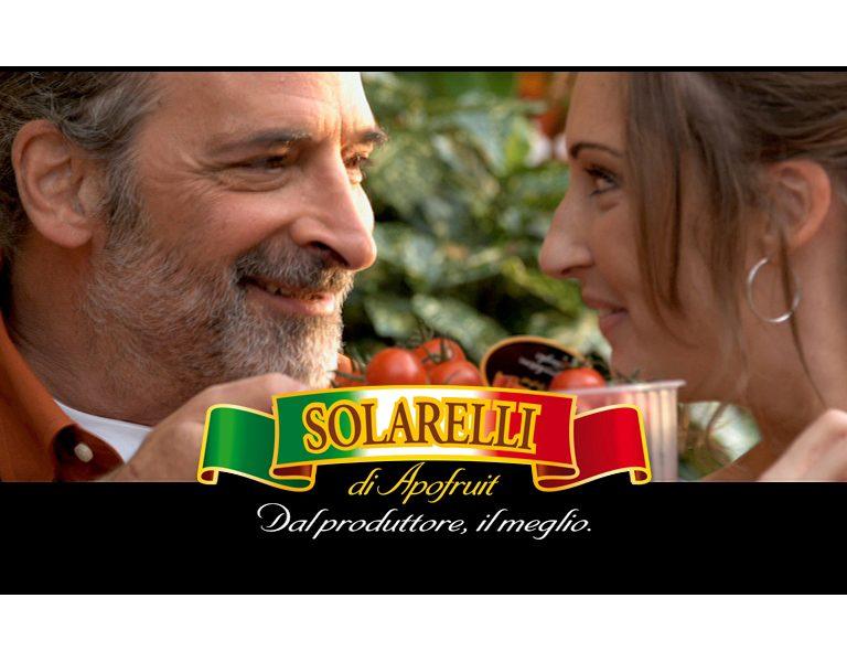Solarelli: Di nuovo in onda la campagna pubblicitaria di Apofruit