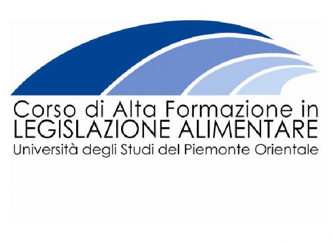 Alessandria: Corso di Alta Formazione in Legislazione Alimentare